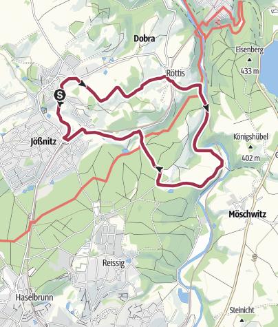 Karte / J5 - Wanderung ins Pfaffengut