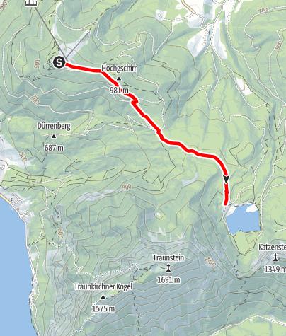 Karte / Sport Run Gilles Strecke retour