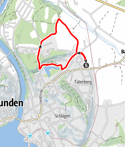 Karte / Runnersfun Runde Gmunden