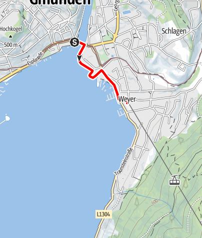 Karte / Traunseehotels Runde