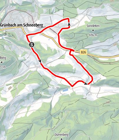 Karte / Alpenhotel Runde