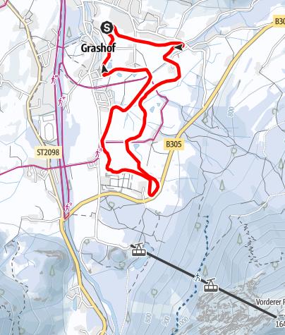 Karte / GRASHOF Loipe