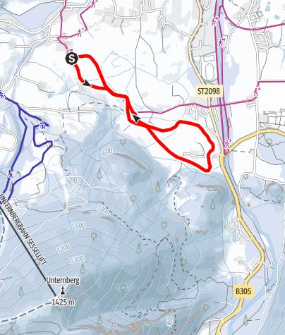 Karte / MADSHUS Loipe
