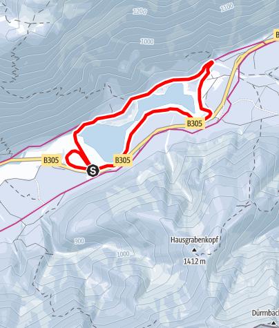 Map / SONNEN Loipe