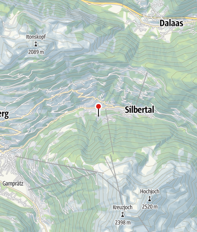 Karte / Alpenliebe Montafon