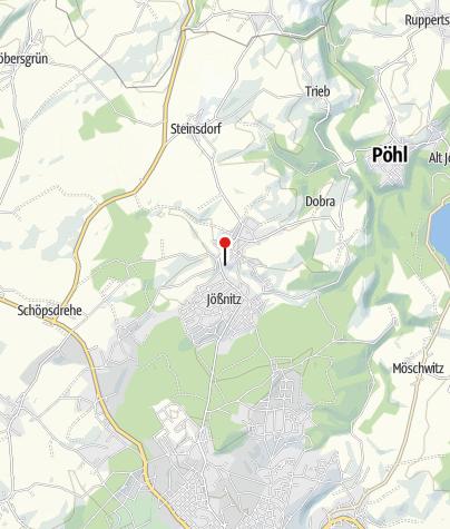 Mapa / Schloss Jößnitz