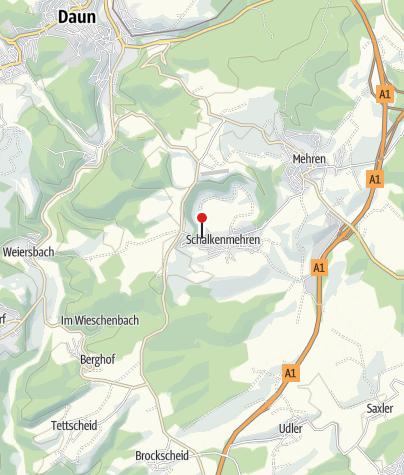 Karte / Sonnenhöhe - Ferienhäuser in der Vulkaneifel