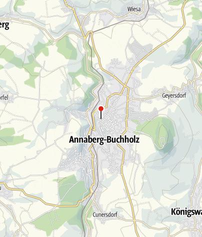 Karte / Erzgebirgssparkasse - Annaberg Markt