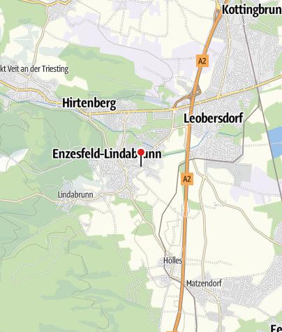 Karte / Vitalitäts- & Fitnessarena Enzesfeld-Lindabrunn