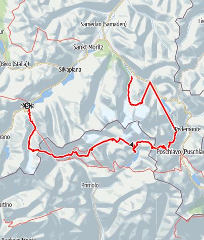 Kaart /  Bernina Bellavista