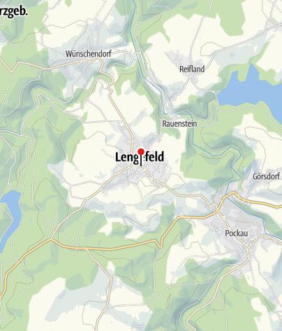 Karte / Erzgebirgssparkasse - Lengefeld