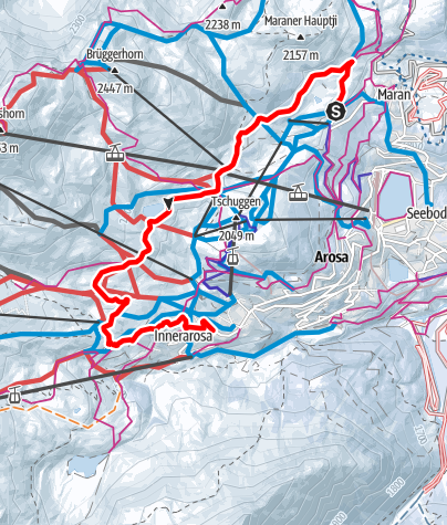 Map / Arlenwaldweg