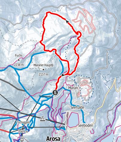 Map / Rundtour Prätschli-Prätschalp-Rot Tritt Scheidegg