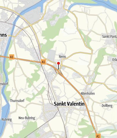 Mapa / Landzeit Autobahnrestaurant & Motorhotel