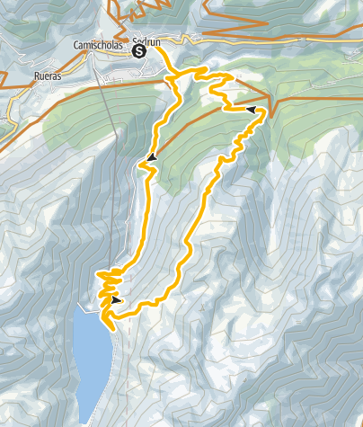 Karte / Cuolm Cavorgia