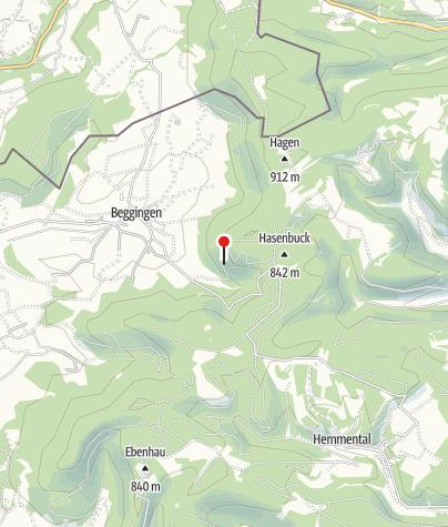 Karte / Luckenhalde