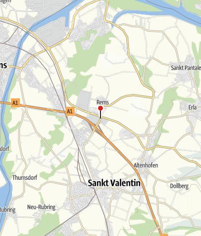 Mapa / Kaffeerestaurant Sternart-Peindl