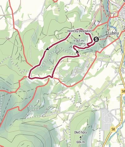 Mapa / Pochod s Mixitkou 2019: Beskydy