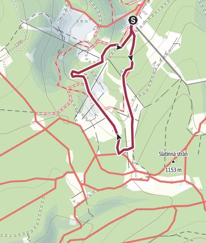 Mapa / Pochod s Mixitkou 2019: Krkonoše