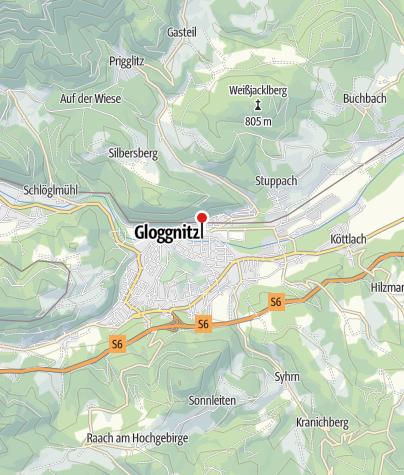 Karte / Bewegungsarena Gloggnitz - Renner Brücke