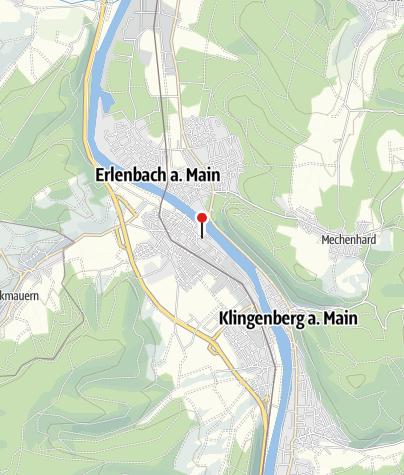 Karte / Campingplatz Mainaue