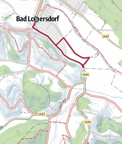 Karte / 3km Jugend und Hobbylauf