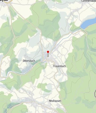 Karte / Ferienwohnung am Nussknackermuseum