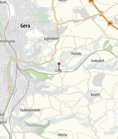 "Karte / Café Gasthaus Hotel ""Collis am Gessenbach"""