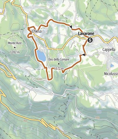Cartina / 2 - Giro del Lago