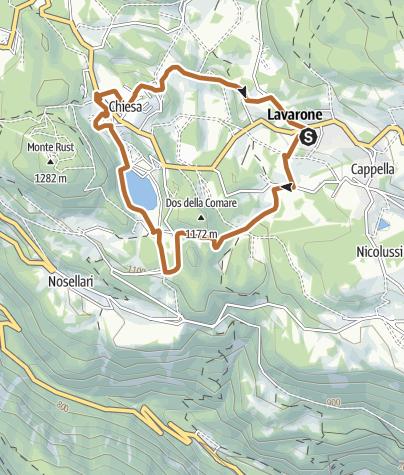 Karte / 2 - Giro del Lago