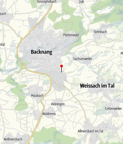 Karte / Bikes N Boards, Backnang