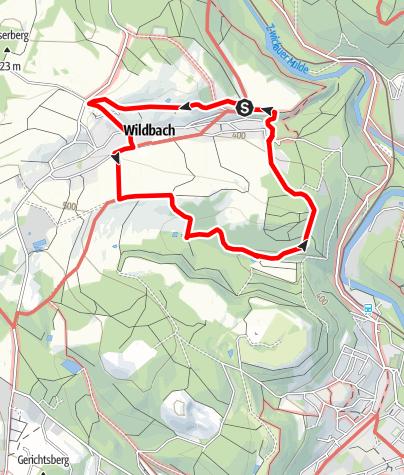 Karte / Rundweg Wildbach Bad Schlema