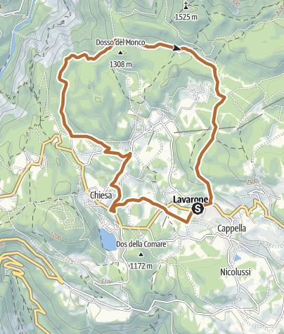 Cartina / 4 - Giro del Tomazol