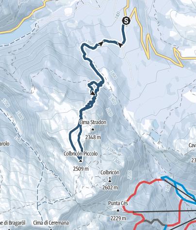 Cartina / Piccolo Colbricon