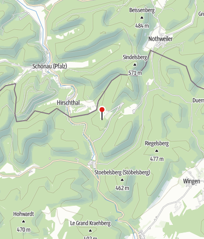 Karte / Burgruine Fleckenstein/F