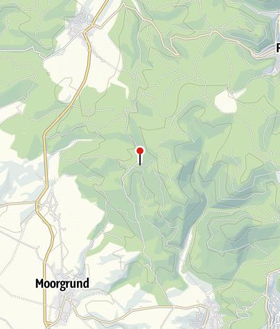 """Map / Waldgaststätte """"Am Kissel"""""""