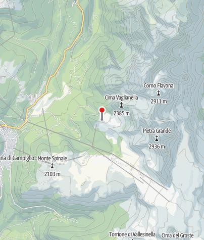Map / Malga Vagliana