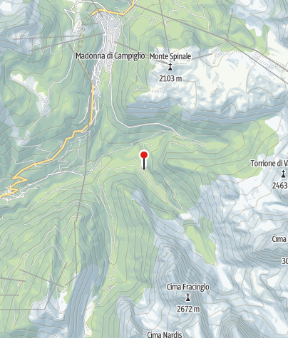 Map / Malga Brenta Bassa