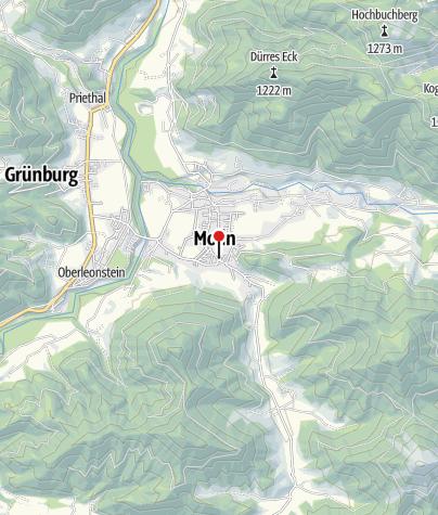 Karte / Gasthof Wirt im Dorf
