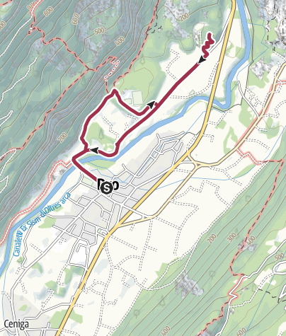Map / Hidden Treasures: The Heart of Dro, in the Sarca valley