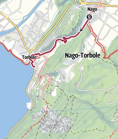 Map / Hidden Treasures: To Torbole in Goethe's footsteps