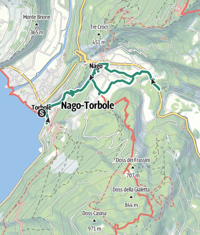 Map / Hidden Treasures: Along the paths of peasant faith in Nago