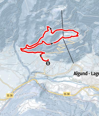 Mappa / Via Saxner - Via Kienegger - Velloi