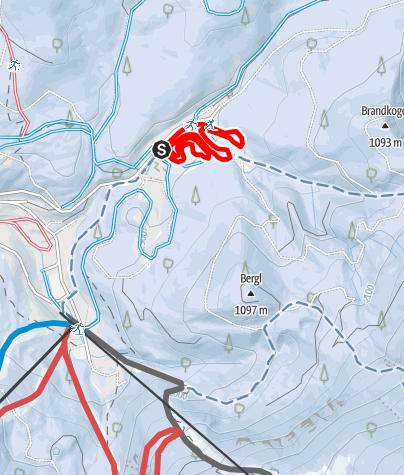 Karte / Lackenhof am Ötscher - Trainingszentrum Ötscherwiese