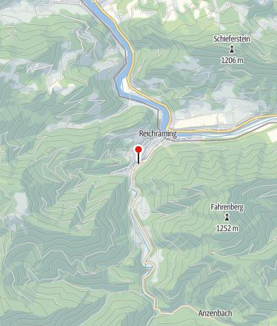 Karte / Reichraming, Schallau