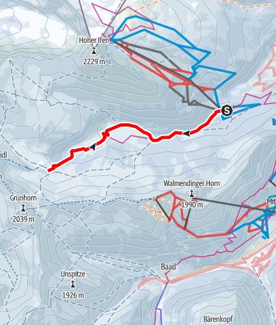 Karte / Schwarzwassertal