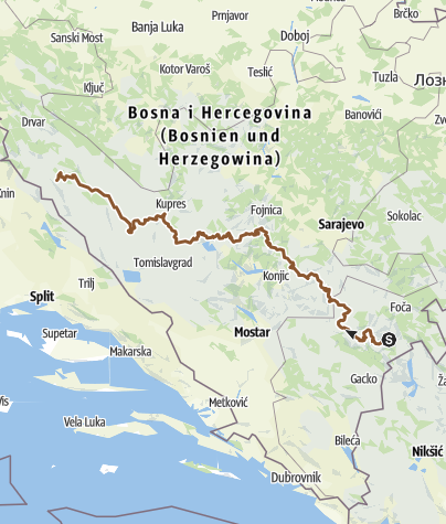 Map / BH VD MTB
