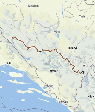 Mapa / BH VD MTB