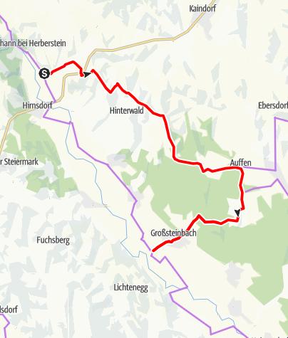 Karte / Tour6 Fieberbründlrunde