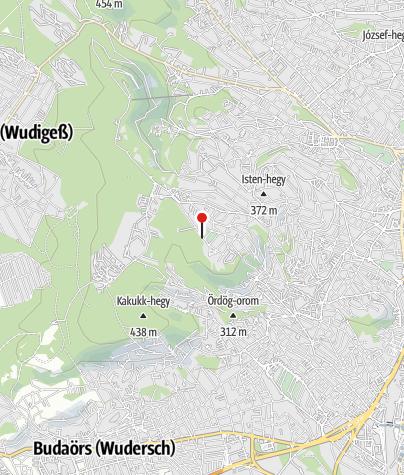 Térkép / Gyermekvasút (Széchenyi-hegy állomás)
